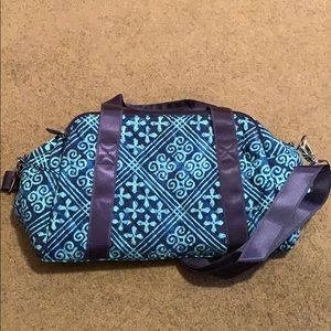Vera Bradley compact sports bag